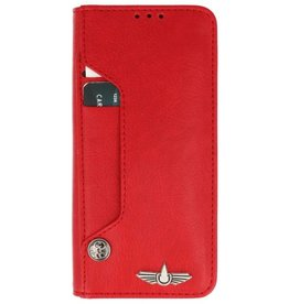 Galata Luxe pasjes Samsung Galaxy S9+ Plus booktype rood