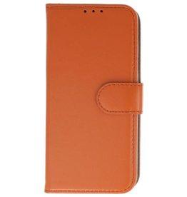 Merkloos Samsung Galaxy J6 Basis TPU bookcase bruin