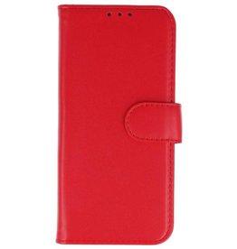 Lelycase Samsung Galaxy J6 Basis TPU bookcase rood