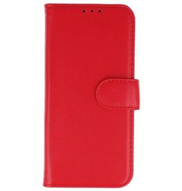 Merkloos Samsung Galaxy J6 Basis TPU bookcase rood