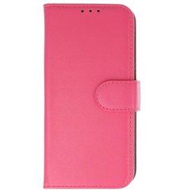 Merkloos Samsung Galaxy J6 Basis TPU bookcase roze