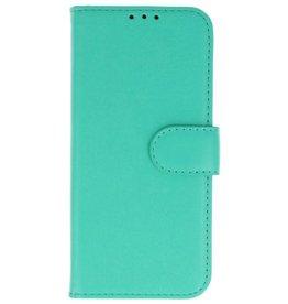 Merkloos Samsung Galaxy J6 Basis TPU bookcase groen