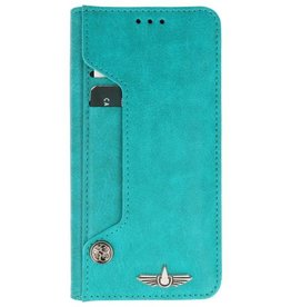 Galata Luxe pasjes Huawei P20 Lite booktype turquoise