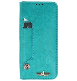 Galata Luxe pasjes Samsung Galaxy S9+ Plus booktype turquoise