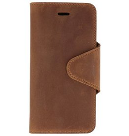 Galata Genuine leather iPhone 6/6s wallet case crazy bruin