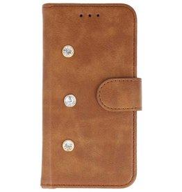 Galata Diamant iPhone 8 Plus / 7 Plus bookcase bruin
