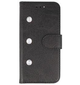 Galata Diamant iPhone 8 Plus / 7 Plus bookcase zwart
