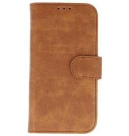 Merkloos LG G7 Basis bookcase bruin