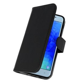 Merkloos Samsung Galaxy J7 Prime 2 Basis TPU bookcase zwart