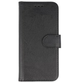 Merkloos Huawei P Smart+Plus (Nova 3i) Basis TPU bookcase zwart