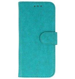 Merkloos Samsung Galaxy A6 2018 Basis TPU bookcase groen