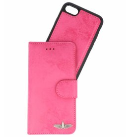 Galata Pu leder 2-in-1 Booklet iPhone 6 / 6s Roze