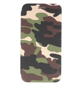 MP Case Samsung Galaxy Note 9 slim folio case army groen