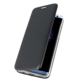 MP Case Samsung Galaxy A6 2018 slim folio case zwart