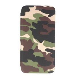 MP Case iPhone Xs / X slim folio case army groen