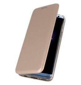 MP Case iPhone Xs / X slim folio case goud