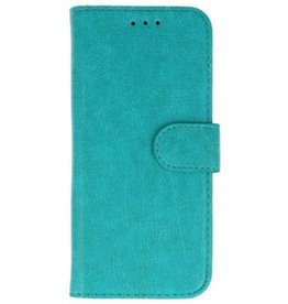 Lelycase iPhone Xs Max Basis TPU bookcase groen