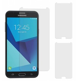 MP Case 3 Stuks Samsung Galaxy J7 Prime 2 Tempered Glass Screen Protector