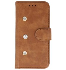 Galata Diamant iPhone 5/5s/SE bookcase bruin
