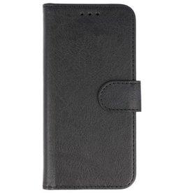Merkloos Vintage Samsung Galaxy A9 2018 bookcase zwart