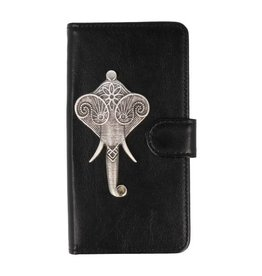 MP Case iPhone Xr bookcase olifant zilver