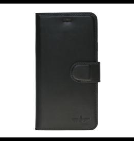 Galata Echt leer bookcase Samsung Galaxy A6+Plus (2018) zwart