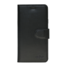 Galata Echt leer bookcase Samsung Galaxy A6 (2018) zwart