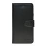 Galata Echt leer bookcase iPhone 5/5S/SE zwart