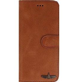 Galata Book case Huawei Mate 20 Lite echt leer cognac bruin