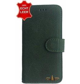 Galata Book case Huawei Mate 20 Lite echt leer mosgroen