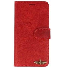 Galata Book case Huawei Mate 20 Pro echt leer Vintage Rood