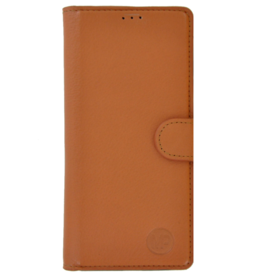 MP Case Classic luxe echt leer iPhone 6/6s booklet saddle bruin