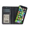 Galata Echte leer 2in1 wallet case iPhone Xs / X zwart