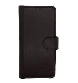 MP Case Classic luxe echt leer Samsung Galaxy S10 booklet donkerbruin