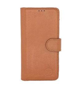 MP Case Classic luxe echt leer Samsung Galaxy S10 booklet saddle bruin
