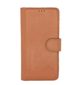 MP Case Classic luxe echt leer iPhone 5/5s/SE booklet saddle bruin