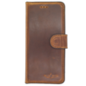 Galata Bookcase iPhone 6 / 6s echt leer antiek bruin