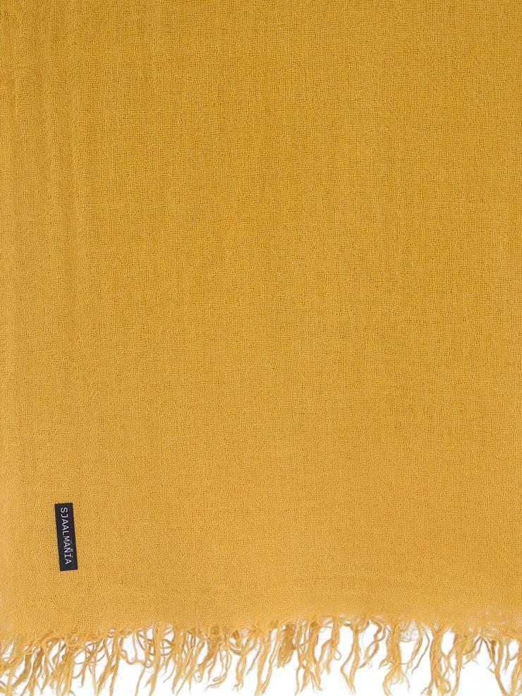 sjaal SjaalMania Cashmy Mustard