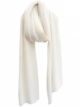 Sjaal SjaalMania Cosy Chic Creamy White