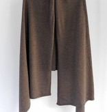 Sjaal SjaalMania Cosy Short Brown Taupe Melee