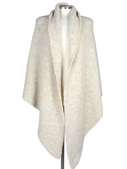 SjaalMania Big Wrap Boucle  Oatmeal