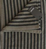 Sjaal SjaalMania Cosy Chic Stripes Olive - Black