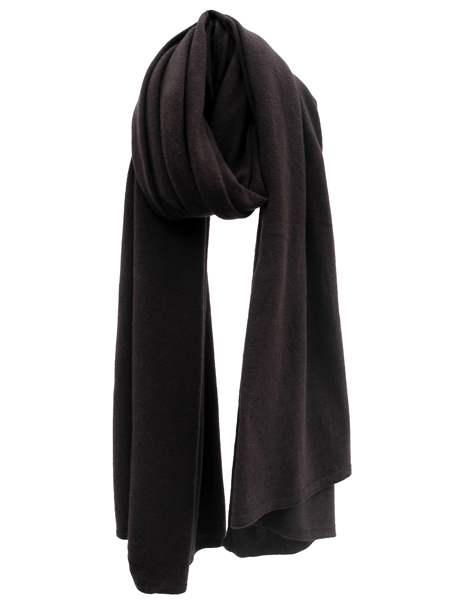 Sjaal SjaalMania Cosy Chic Dark Brown