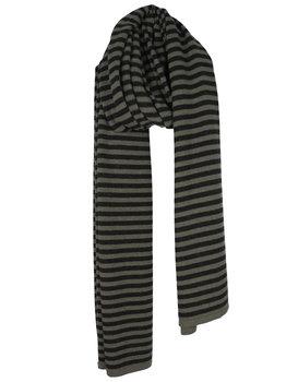 Cosy Chic Stripes Olive - Black