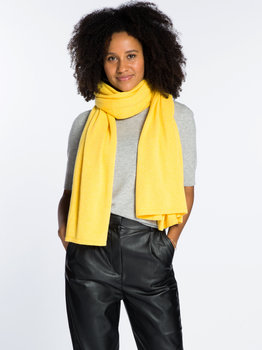 Sjaal SjaalMania Cosy Short Lemon