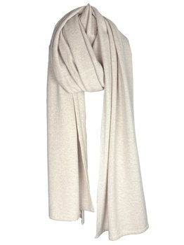 Sjaal SjaalMania Cosy Chic Light Sand