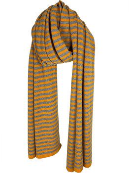 Cosy Chic Stripes Pantone Mid Grey Melee