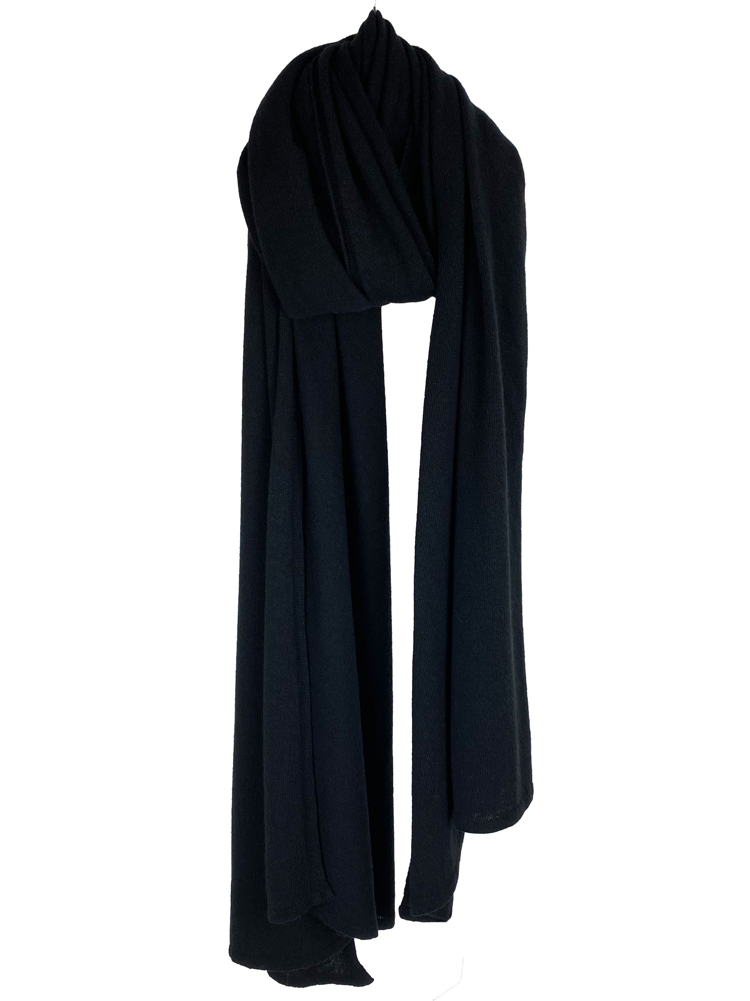 Cosy Travel Light Wrap Solid Black