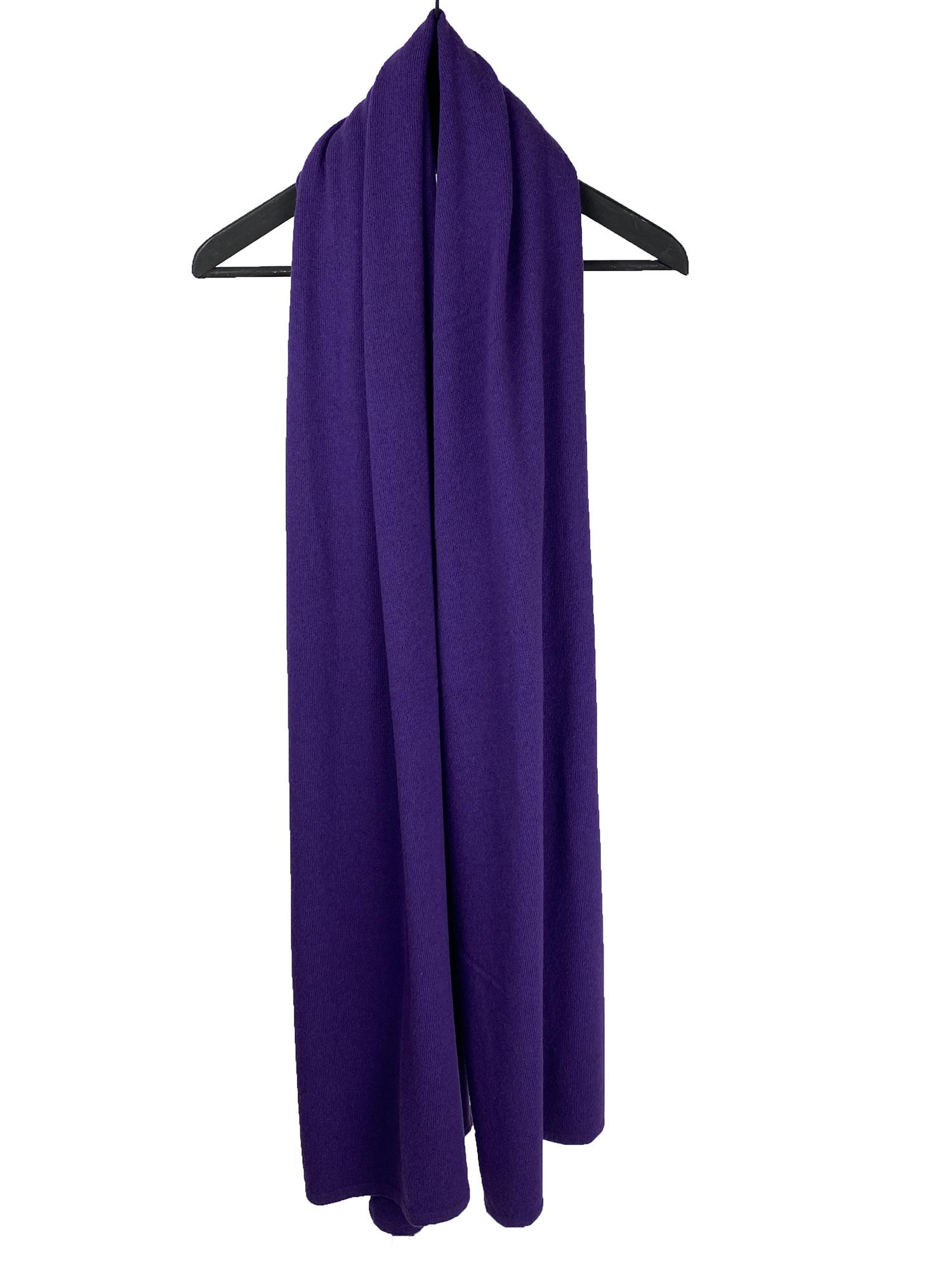 Sjaal SjaalMania Cosy Chic Colour Purple