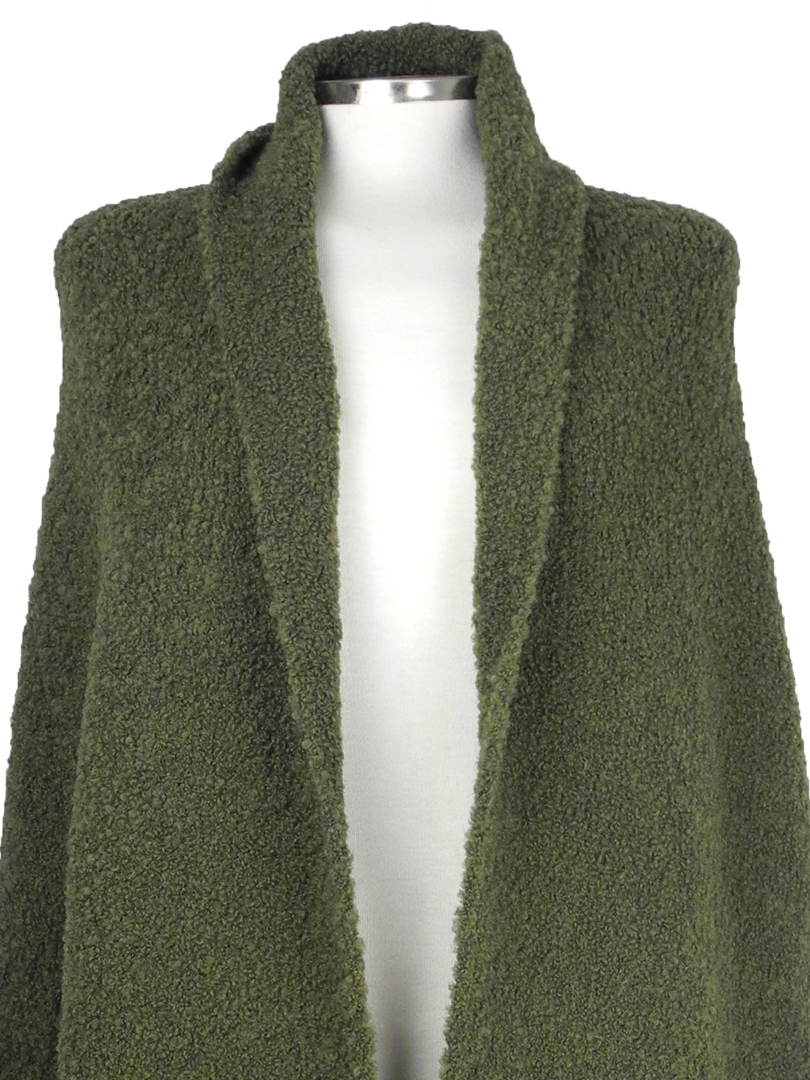 SjaalMania Big Wrap Boucle  Army